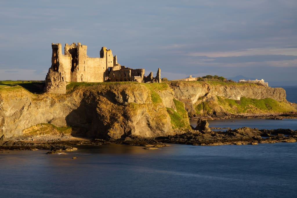 Tantallon Castle - one of the local attractions.