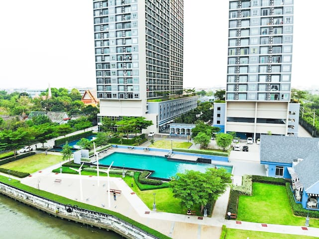 Stunned Riverview Suite 1Bedroom+50mbps Wifi Plaza