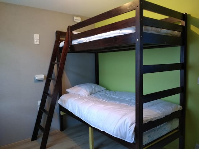 chambre lit superposé 90