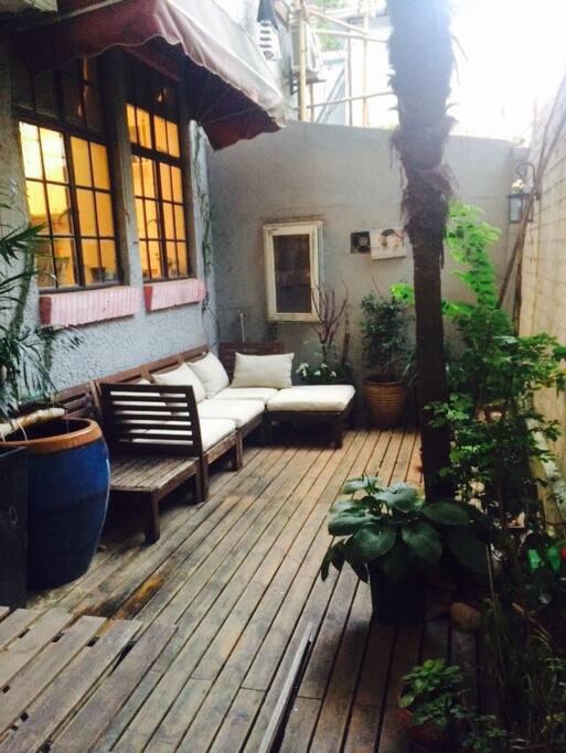 Lovely private  garden