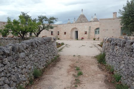 Casa SistoTrulli in uliveto - Cisternino-Br