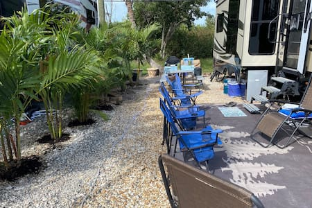 Breezy Pines Lower Keys Lot for your camper