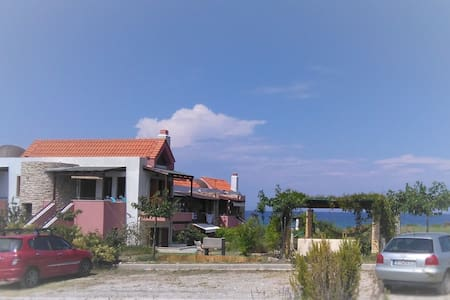 Beach maisonnette, Gavriadia beach, Ierissos - Ierissos - 公寓