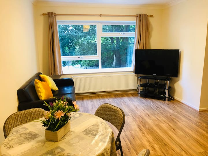 Two bedroom apartment/ NETFLIX, Private parking