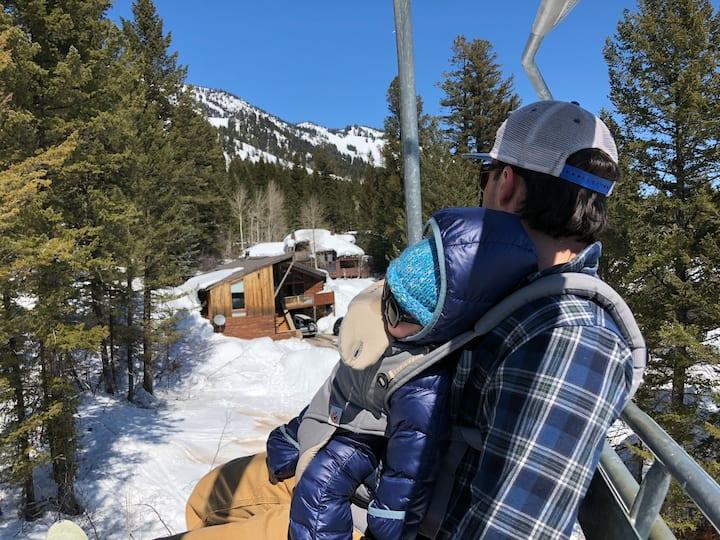 Ski-In/Ski-Out House!
