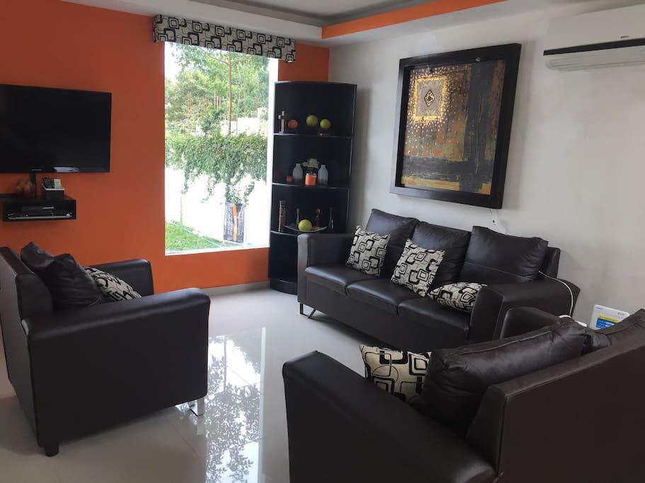 Sala.  Living room.