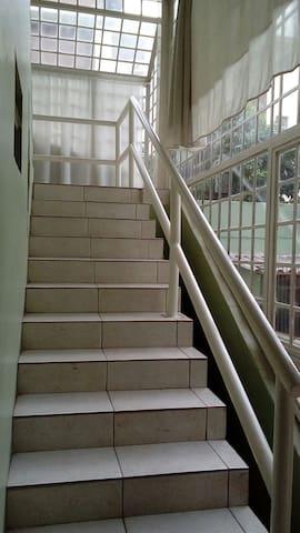 Escadaria de acesso