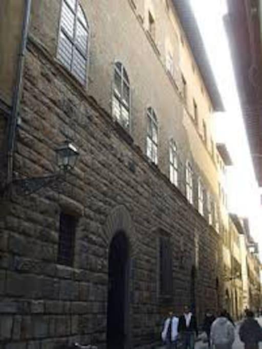 Palazzo degli Alessandri built in the 1300