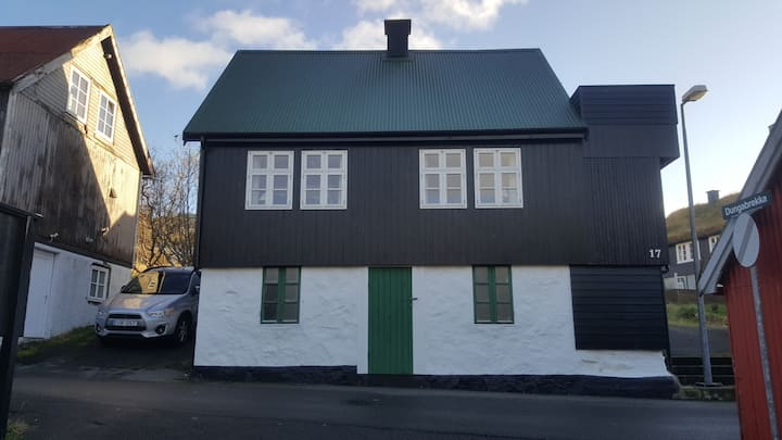 House in Sandavágur (10min from the airport)