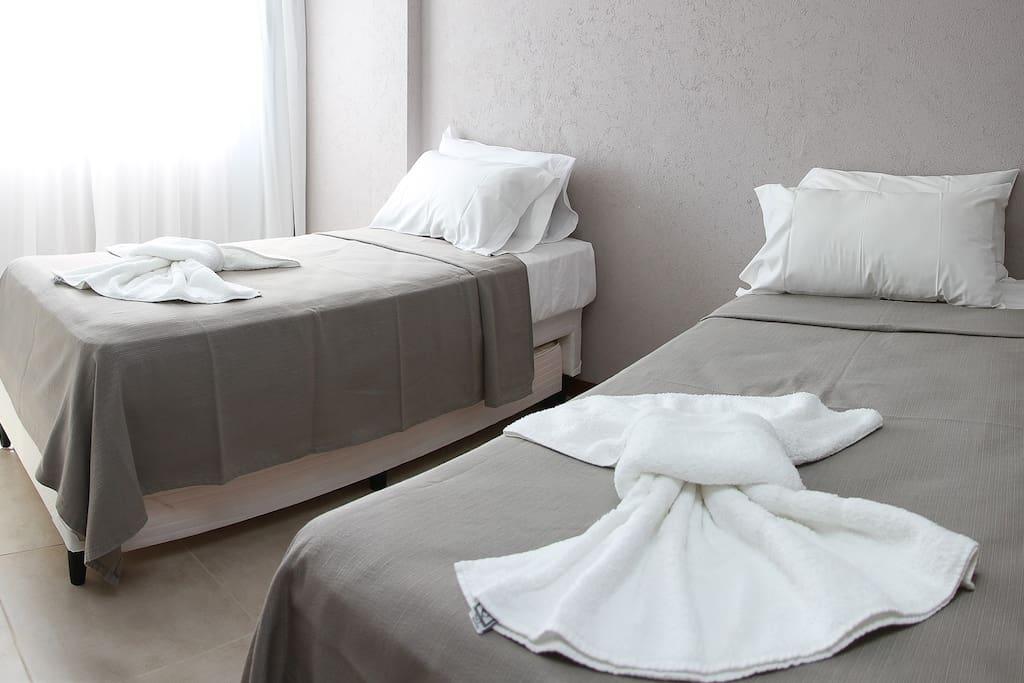 Segundo dormitorio con somieres dúo