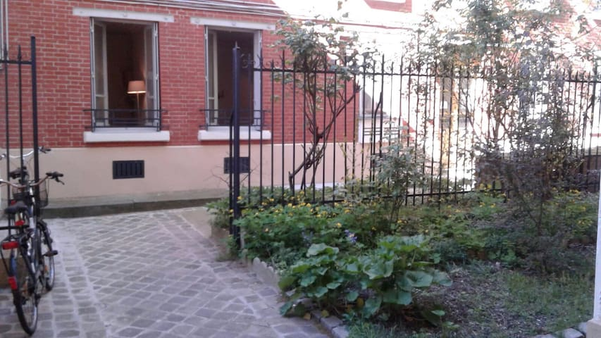 Paris 14ème, le calme à deux pas de Montparnasse - Paris - Apartamento