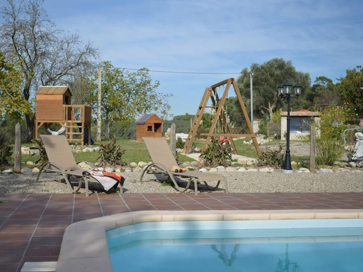 Costabravapartment Cal Guillot, country house with private pool