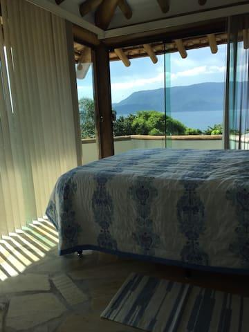 A cama do suite