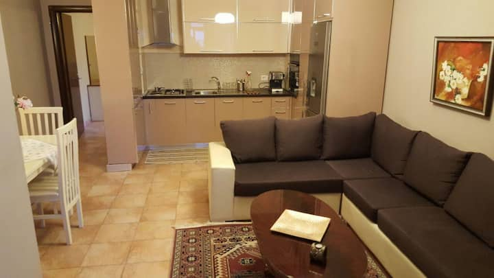 Beautiful and clean 1 BR apt by Skanderbeg Square