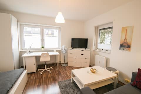 Chic studio in the heart of Mannheim