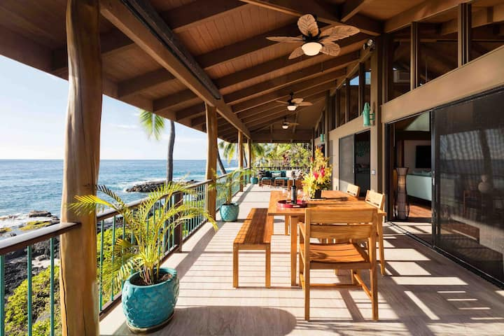 Private Oceanfront Vacation Home