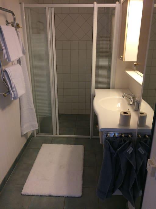 Toalett rymlig