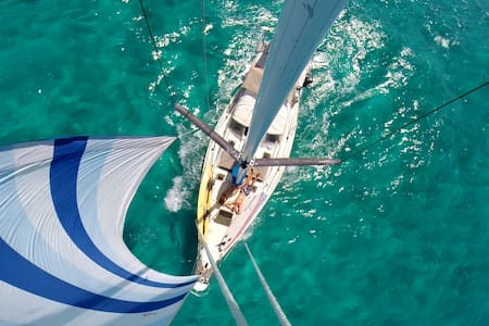 Sailboat adventure - Surf/sail/SUP/fish/yoga - Bocas town