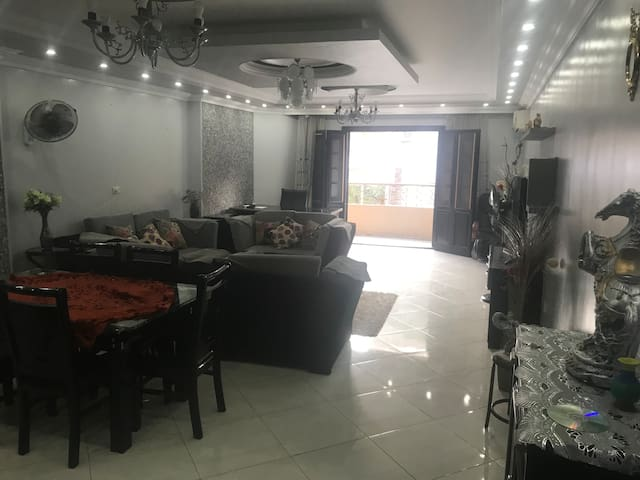 Furnished 3 Bedroom Apart. in Dokki with Full ACs