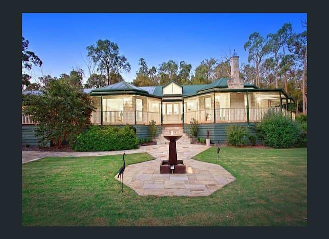Wirrabara House, an elegant homestead, set on 15 acres of garden and native bushland.