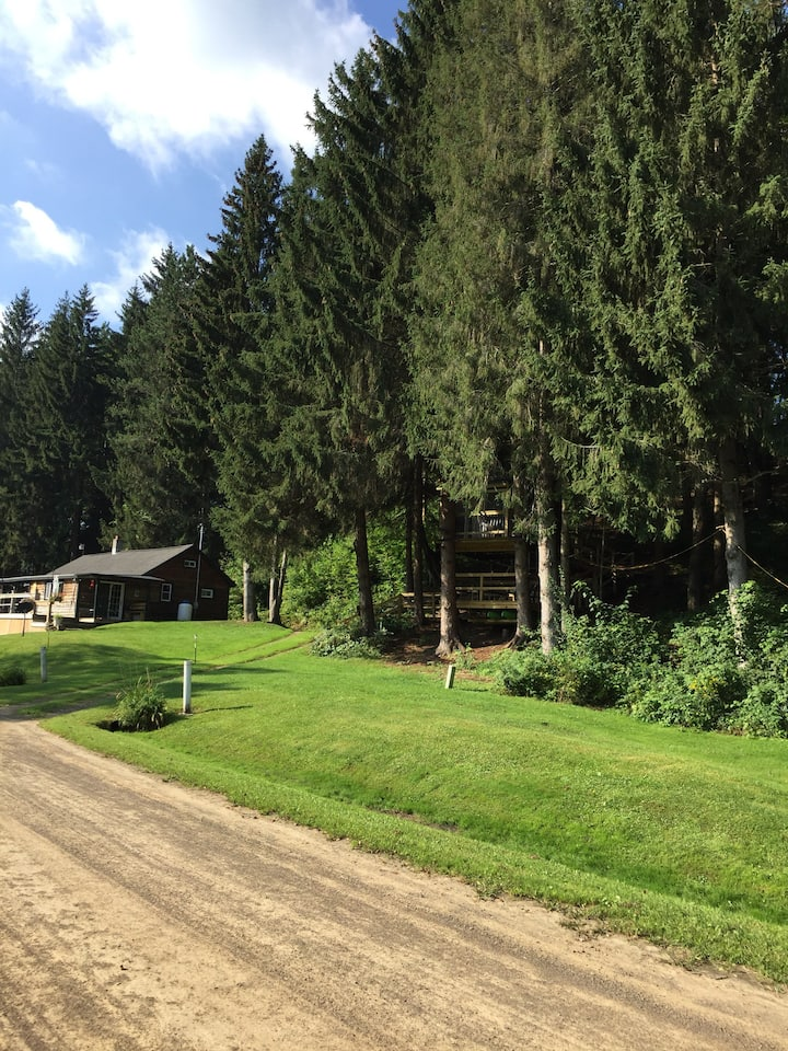 WAG Trail Inn  on the Genesee TREEHOUSE