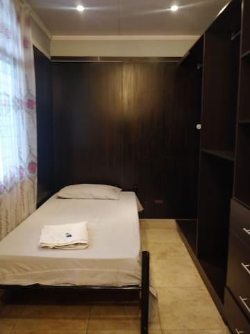 Colibrí: es una habitación pequeña pero acogedor