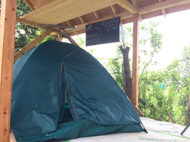Sleep in A Tent in Makuhari!