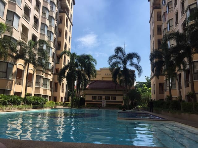 Five star studio room with swimming pool next t3