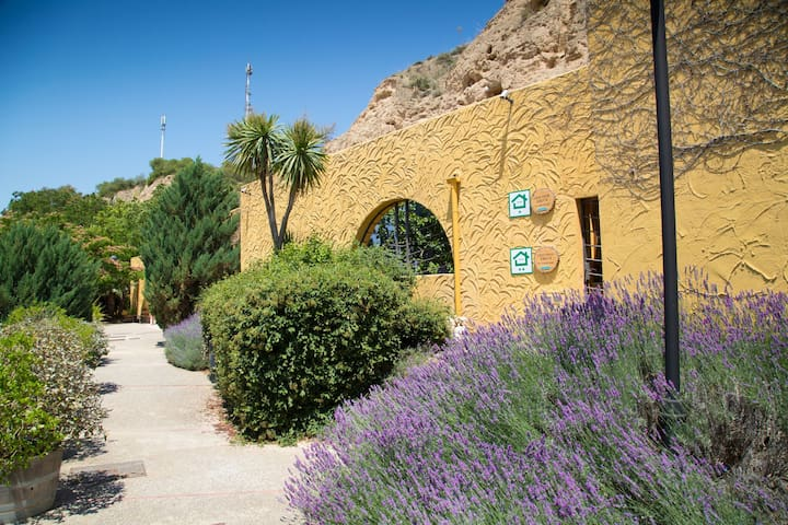 Cave Hotel-Maison Troglodyte Calandria(4/7 person)