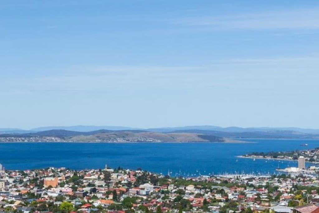 Views over Hobart