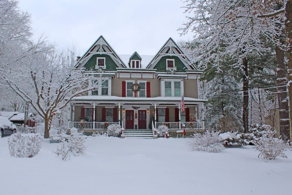 A Grey Gables winter in the Northeast