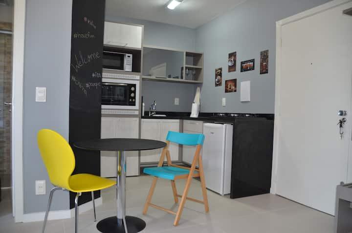 Studio muito confortável - Bom Fim - Porto Alegre
