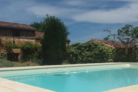 Charming 16th Century Farmhouse (with Heated Pool) - Bouillac - Casa