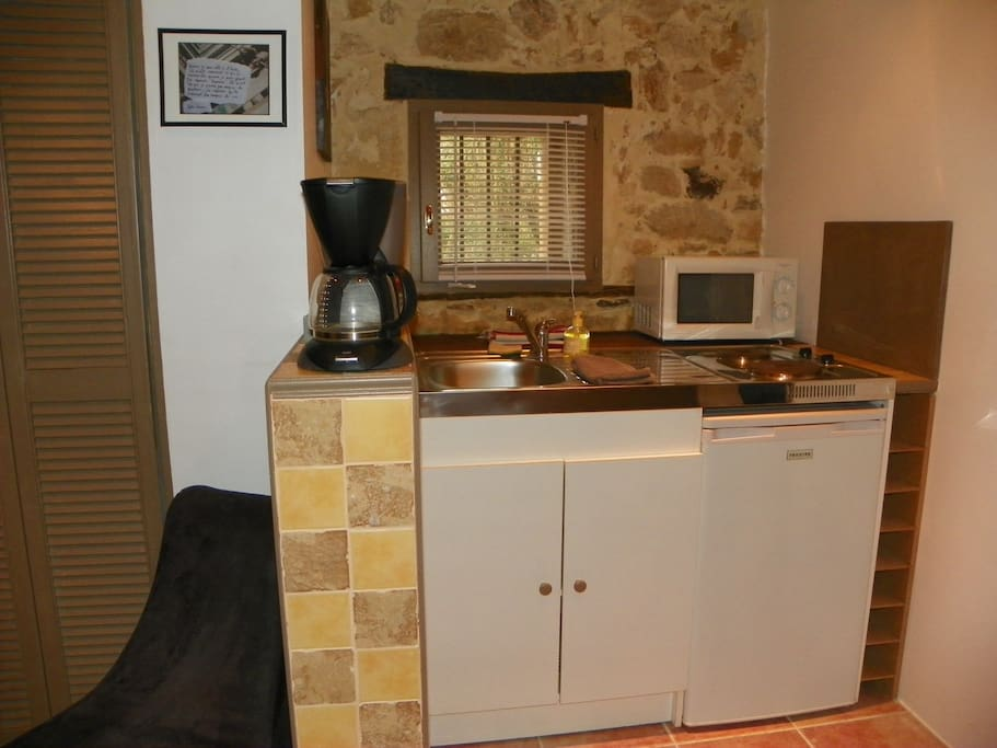 La kitchenette du gîte