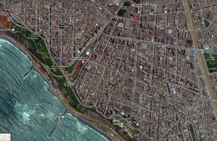 MiniDepartamento en el centro de Miraflores