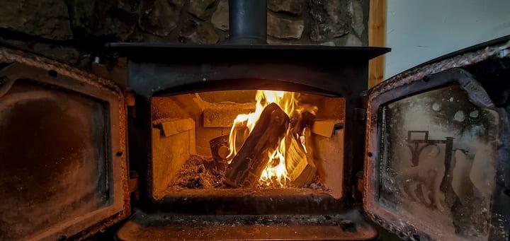 The Castle's Den  +Fireplace