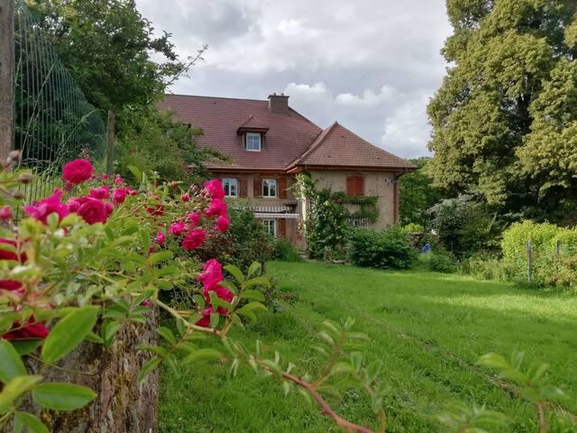 Appartement de charme avec jardin privatif
