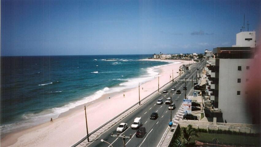Flat Mobiliado Quarto e Sala - Vista Mar Salvador
