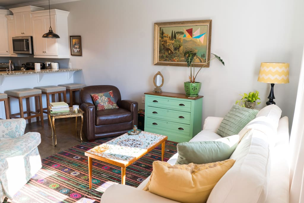Perfect space to enjoy a relaxing visit with friends and family.
