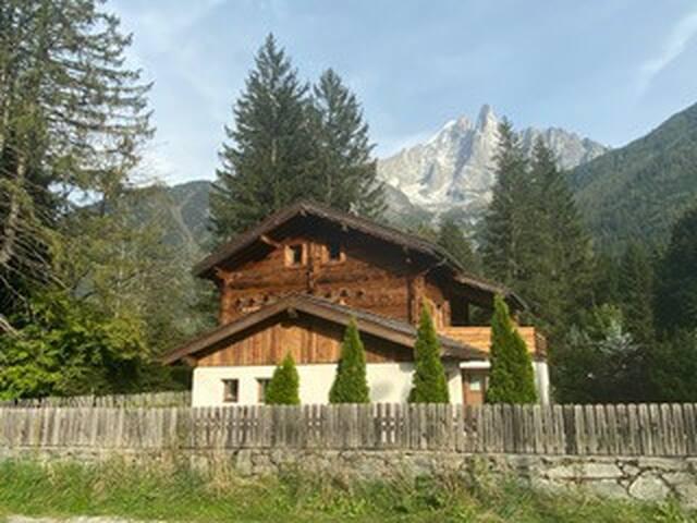 Chamonix Mont Blanc - Les Praz : maison avec vue