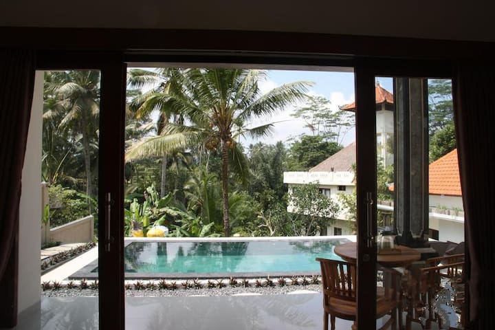 *Affordable 2 Bedrooms Family Pool Villa in Ubud