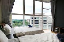 Masterbedroom with High Floor stunning view