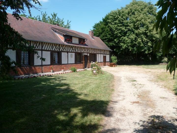 """""""Les Colombages""""  maison familiale  Baizieux Somme"""