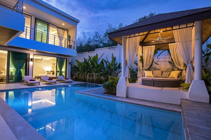 KA别墅有最令人惊叹的L型大泳池 - Villa Karamel