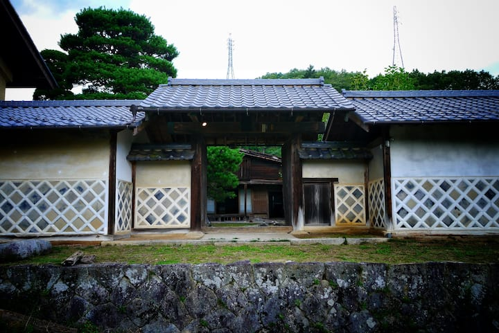 The house was built 300 years ago. (図書蔵Library)