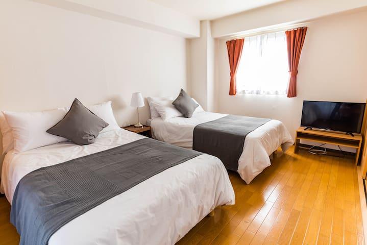 Designer hotel-3 mins to Namba/Centrage Ark Ueshio