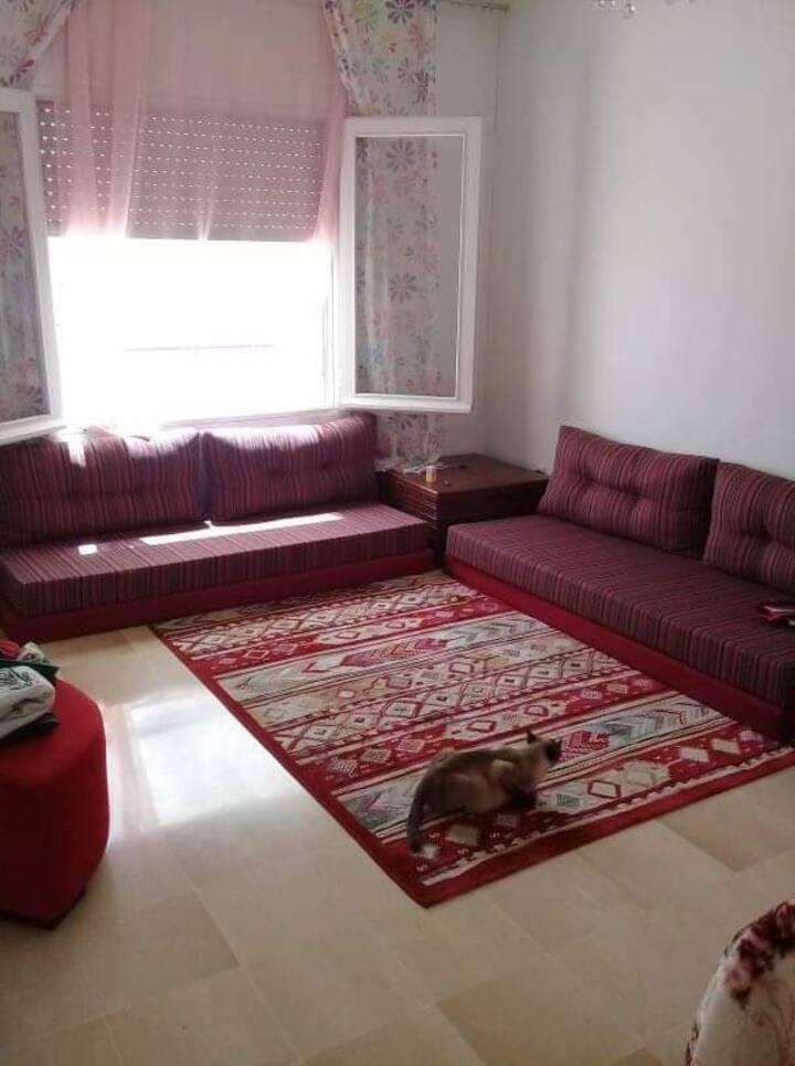 Appartement propre à partager