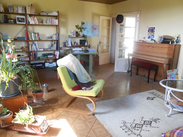 Le charme du vert, sans vis-à-vis - Villamblard - Appartement