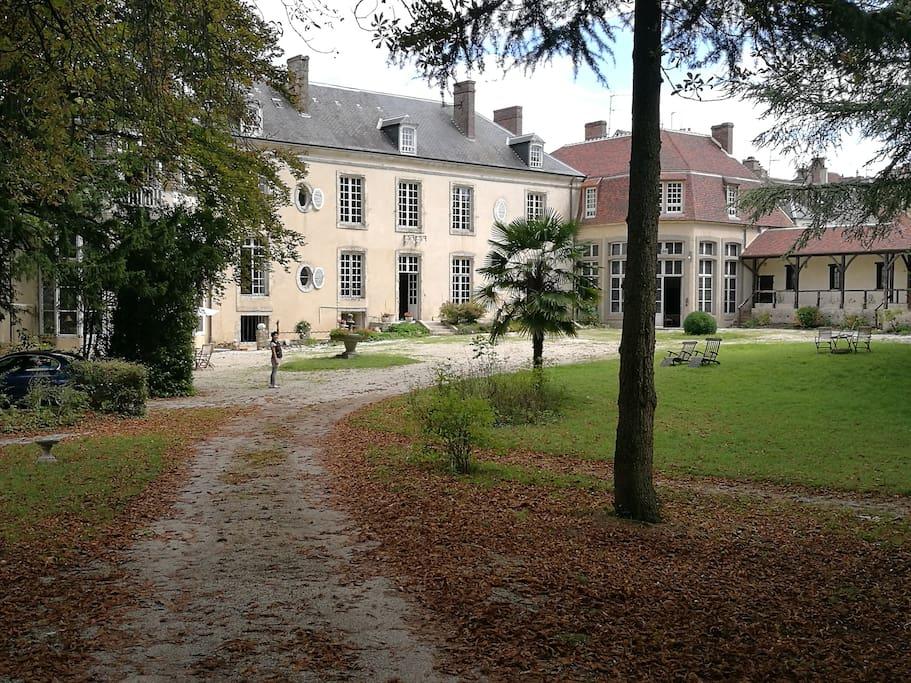Red room chateau de la grand maison chambres d 39 h tes - Chambre d hote chateau thierry ...