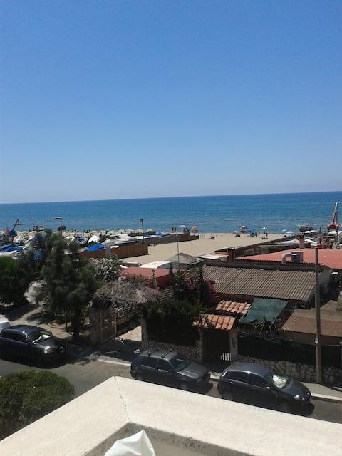 Blue sea near Rome!